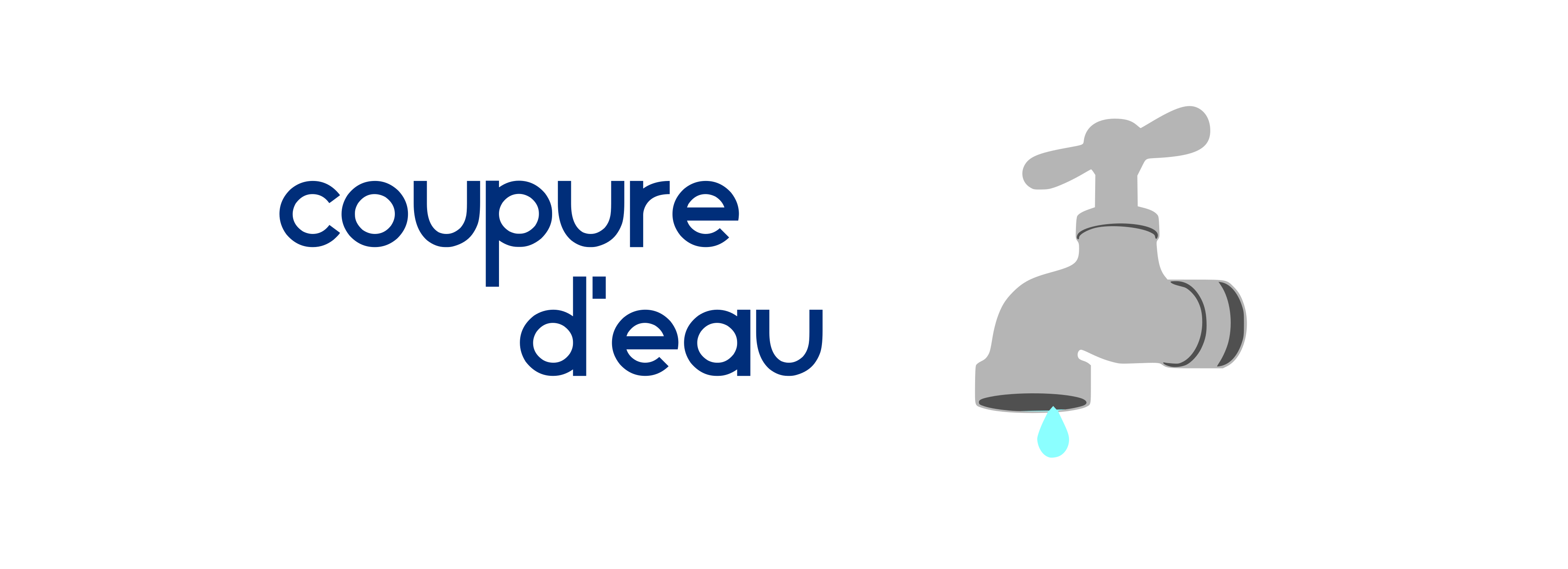 28/07/2021 : Coupure de l'alimentation en eau potable, Boulevard Sirius à MONCE EN BELIN